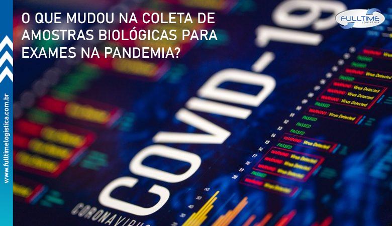 O que mudou na coleta de amostras biológicas para exames na pandemia?