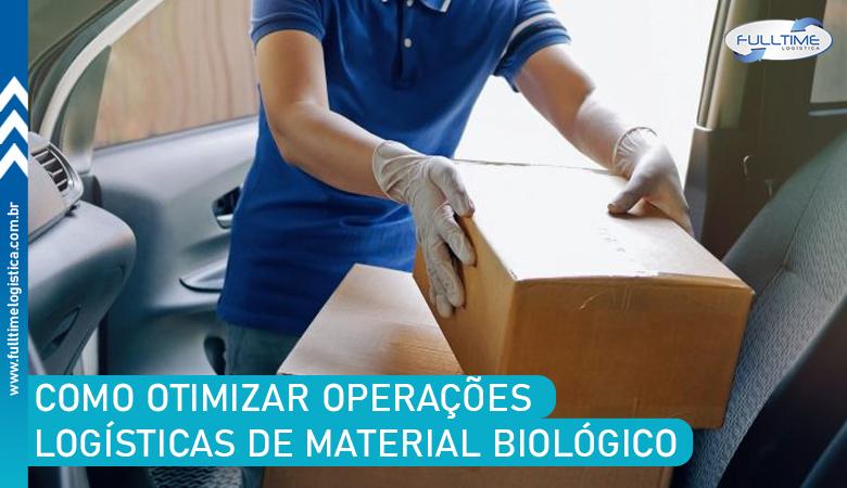 Como otimizar operações logísticas de material biológico? Saiba mais aqui!