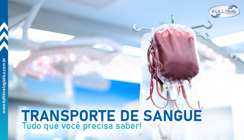 Transporte de sangue: tudo que você precisa saber sobre o assunto!